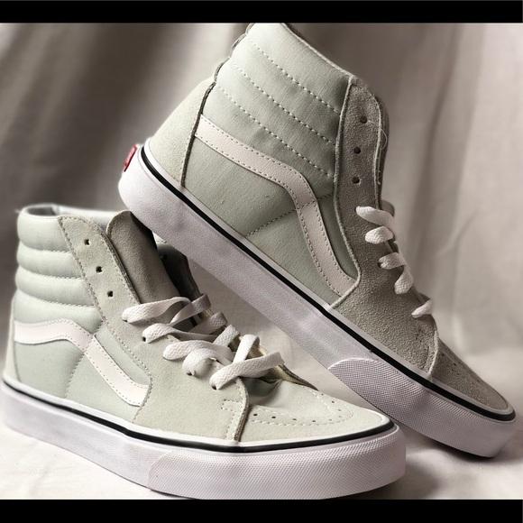988aaa23f1 Vans SK8-Hi Ice Flow True White